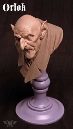 1:3 scale original bust.  10 inches tall, cast in solid urethane resin from the land of thieves and phantoms.  3 pieces, unassembled*Colors may vary. Each kit is hand-cast and may require some cleanup. Before painting, be sure to scrub the resin parts with warm soapy water to remove any mold release residue and promote paint adhesion.**All kits are shipped via USPS Priority Mail Flat Rate.  International customers please email for a quote if your country is not availab...