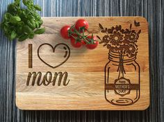 Every our personalized cutting board is made of natural wood and accurately engraved. This custom cutting board makes the unique present for a birthday, wedding, Anniversary day or even for a Valentine's day. Also, it could be a cute gift for yourself and a perfect item for your cozy kitchen.