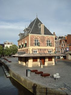 Leeuwarden, Friesland. The Netherlands - haven't eaten there yet, but I walk by it almost every day
