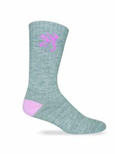 bcb4072b8 Browning Hosiery Women s Medium Weight Wool Blend Socks-Pack of 2