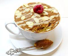 Vegan mugcake alla vaniglia e mandorle