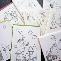 Shop 'til You Drop Stationery, Set of 8 Blank Notecards- LOinLONDON® fine paper goods + whimsical design | www.loinlondon.com