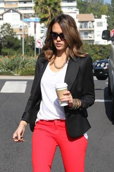 Jessica Alba - Jessica Alba in West Hollywood