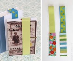 Stay Put Elastic Bookmark