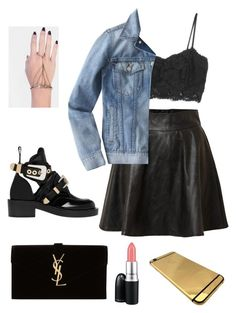 ? by xilasia on Polyvore featuring polyvore, fashion, style, MANGO, J.Crew, Vero Moda, Balenciaga, Yves Saint Laurent, INDIE HAIR and MAC Cosmetics