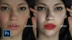 Photoshop cc Tutorial: How to Retouch Photo | Skin retouch #RetouchingPhotos