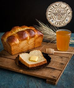 """Honey Brioche Prep Time: 45 Minutes, Plus 2 Hours, 45 Minutes Rising Time Cook Time: 35 Minutes Makes: Two 8"""" x 4.5"""" Loaves"""
