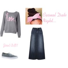 """""""Casual Date Night"""" by jen1301 on Polyvore"""