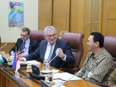 Ketua Delegasi Parlemen Uni Eropa untuk Asia Tenggara dan ASEAN, Werner Langen