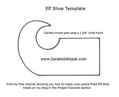 To Make Elf Shoes Templates | ELF SHOE TEMPLATE - CLICK HERE to find my printable Template
