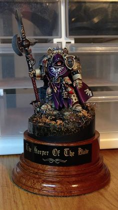 Deathwing champion with halberd of caliban.