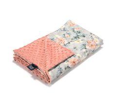 Tavaszi-nyári takaró töltet nélkül - kétoldalas pamut-minky - Blooming Boutique - Bubbaland.hu Baba