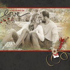Scrapbook Pages, Digital Scrapbooking, Stencils, Monogram, Ads, Couple Photos, Couples, Blog, Couple Shots