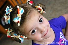 Vintage Rag Curls Tutorial See also: Vintage Rag Curlers Pattern and Tutorial on Sewing board Curling Toddler Hair, Rag Curls Tutorial, Sponge Rollers, Hair Without Heat, Thats The Way, Hair Dos, Hair And Nails, Girl Hairstyles, Curly Hair Styles