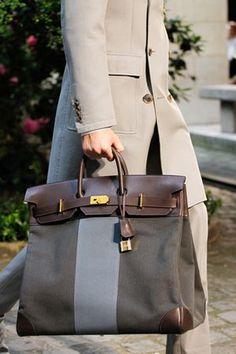 Hermes Birkin bags are carried by men as well as women