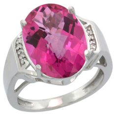 Visit our link to view and buy an amazing new designs of Sterling Silver Jewelry-Diamond Gemstone Rings-Pink Topaz with affordable price.