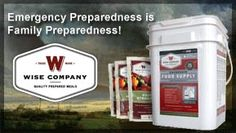 Wise Food Storage - #prepper #foodstorage