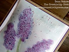 March 25, 2016 blog entry.  Video tutorial.  Lots of ideas for using vellum.