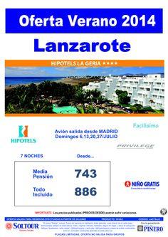 Lanzarote - Oferta Hotel Hipotels La Geria, salidas 6, 13, 20 y 27 Julio desde Madrid ultimo minuto - http://zocotours.com/lanzarote-oferta-hotel-hipotels-la-geria-salidas-6-13-20-y-27-julio-desde-madrid-ultimo-minuto/