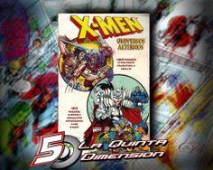 X-MEN UNIVERSOS ALTERNOS DE MARVEL MEXICO, CON DOS HISTORIAS DE WOLVERINE. $ 100.00 Para más información, contáctanos en http://www.facebook.com/la5aDimension