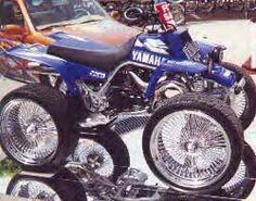 Custom ATVs   Yamaha custom motard atv