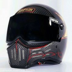 Welcome to the Badass Helmet Store, where we obsessively write, photograph, and talk about all things motorcycle! Badass Motorcycle Helmets, Motorbike Clothing, Motorcycle Outfit, Bike Helmets, Women Motorcycle, Custom Helmets, Custom Bikes, Simpson Helmets, Carbon Fiber Helmets