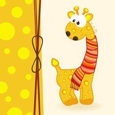 Cute Animals cards art vector 06 - Vector Animal free download
