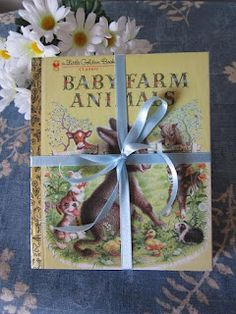 wrap up some of their favorite childhood books...they can read to their child someday