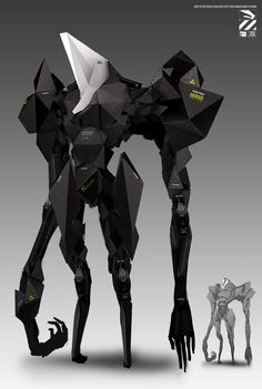 Bio-weird-thing., by Nivanh Chanthara.More robots here.