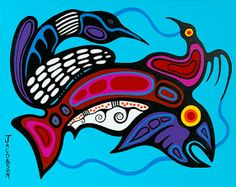 Record: Category: Painting Year Created: 2011 Media: Acrylic on canvas Dimensions: 16 x 20 Signature location: V. American Indian Art, Native American Art, American Modern, Different Forms Of Art, Woodland Art, Inuit Art, Indigenous Art, Aboriginal Art, Native Art