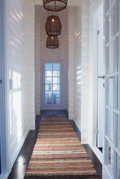 Hallway with pendants