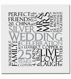 Silver Wedding Anniversary Card Or Gift Tag Uk Free Post & Garden Wedding Anniversary Invitations, Anniversary Parties, Ruby Wedding, Invitation Wording, Invite, Silver Anniversary, Party Planning, 21 Cards, Renewing Vows