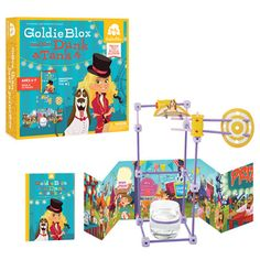 GoldieBlox and the Dunk Tank $19.99 (Ages 4-9) toys that encourage girls to build
