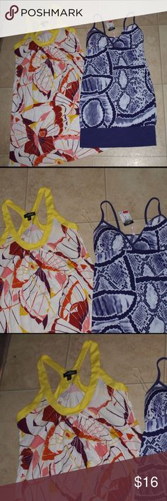 $13 lot of two size small sundresses One NWT rue 21 brand, one NWOT BEBE brand.   ✔The price in the beginning of the title of my listings is the bundle price. These prices are not valid through the make a bundle feature. A new listing must be made by me. These bundle orders must be over $15. Ask me about more details if interested.  ✔No trades. bebe Dresses