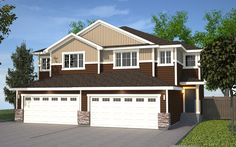 Featuring Cocoa and Brownstone with Royal Linen colors. Double Garage, Semi Detached, Cocoa, Shed, New Homes, Floor Plans, Exterior, Outdoor Structures, Flooring