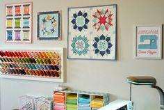 Pretty ideas for craft room