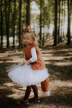 This item is unavailable - Kids halloween Fox Halloween Costume, Little Girl Halloween Costumes, Halloween Skirt, Halloween Rocks, Girl Costumes, Kids Fox Costume, Scarecrow Costume, Halloween 20, Halloween Pictures
