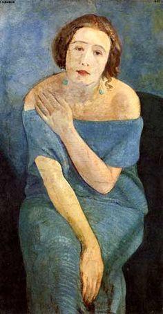 Guido Cadorin, Figura verde, 1921