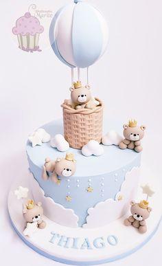 Torta Baby Shower, Tortas Baby Shower Niña, Baby Boy Shower, Baby First Birthday Cake, Baby Boy Cakes, Birthday Cake Decorating, Baby Shower Themes, Gender Reveal, Ideas