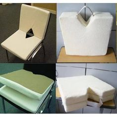 Portable Memory Foam Seat Cushions For Chairs