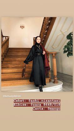 Muslim Fashion, Hijab Fashion, Fashion Beauty, Fashion Outfits, Womens Fashion, Hijab Styles, Hijab Outfit, Hair Beauty, Ootd