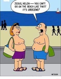 funny joke cartoon