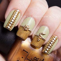 Instagram photo by  athousandnails  #nail #nails #nailart