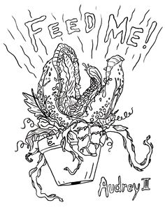 little shop of horrors coloring pages | Little Shop of Horror's Coloring CONTEST!