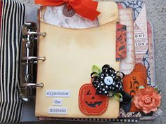 search Halloween on this site for many paper bag album ideas