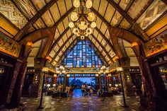 Disney Aulani Resort lobby.