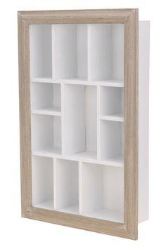 Letterkast wit hout