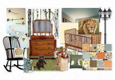 Narnia Nursery by awallnut Bedroom Themes, Nursery Themes, Nursery Ideas, Bedrooms, Narnia, Little Boys Rooms, Kids Rooms, Nursery Name Decor, Storybook Nursery