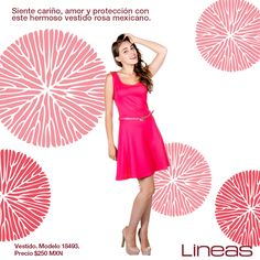 Rosa mexicano... #Lineas #outfit #moda #tendencias #2014 #ropa #prendas #estilo #primavera #outfit #vestido