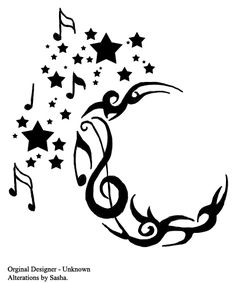 Star and Moon Tattoo Designs - Tattoos - Zimbio
